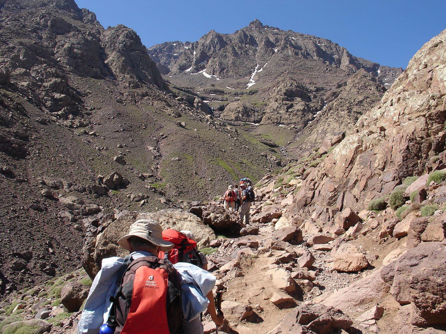 Ascension du Toubkal