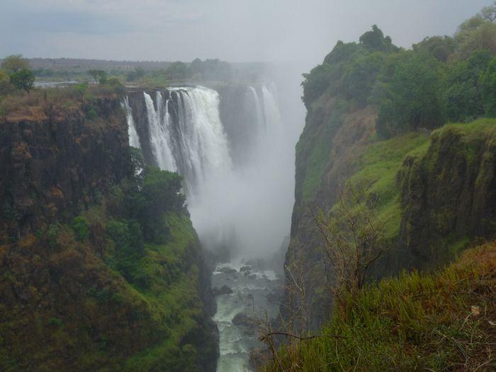 Image Namibie, Botswana et chutes Victoria