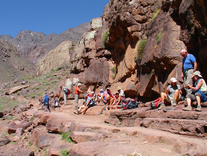 Image Ascension du Toubkal (4 167 m)
