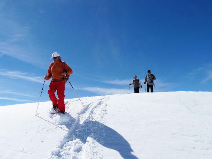 Image Montgarri, raquette à neige dans les Pyrénées