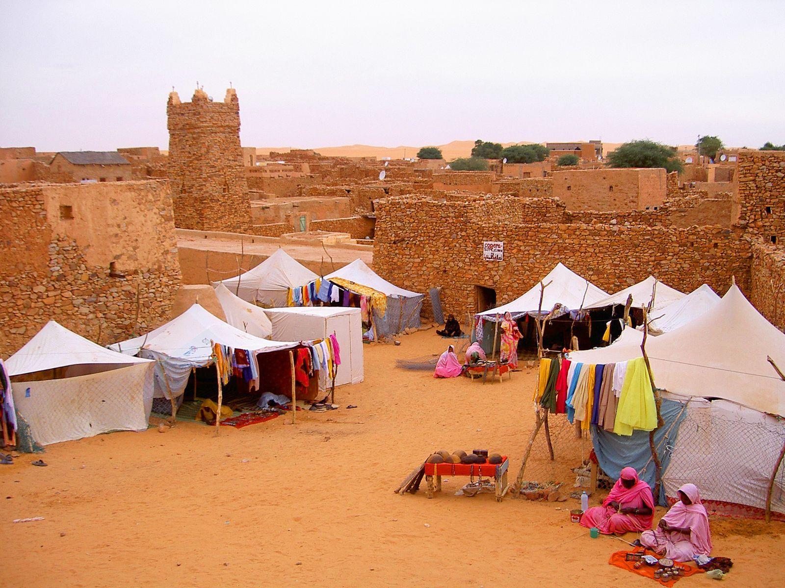 Image De Ouadane à Chinguetti, cités caravanières