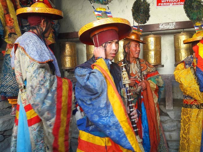 Image Royaume du Mustang, Lo Mantang et festival du Teji