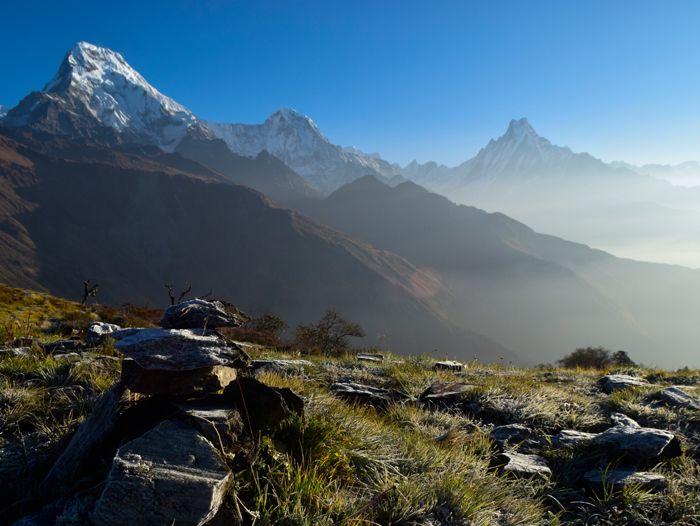Image Kopra Ridge : Balcon des Annapurnas et du Dhaulagiri