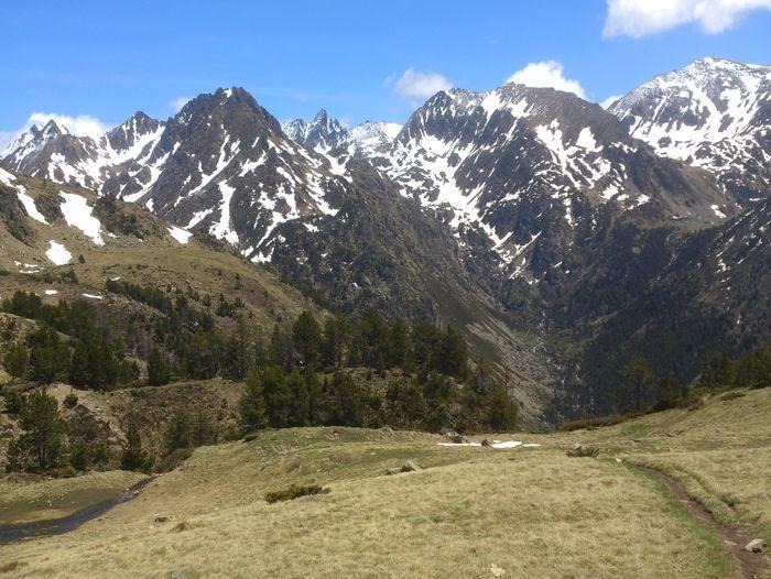 Image Des Encantats aux Pyrénées ariégeoises (Grande Traversée des Pyrénées semaine 3)
