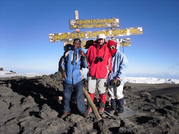 Image Kilimandjaro, voie Marangu (5 895 m)