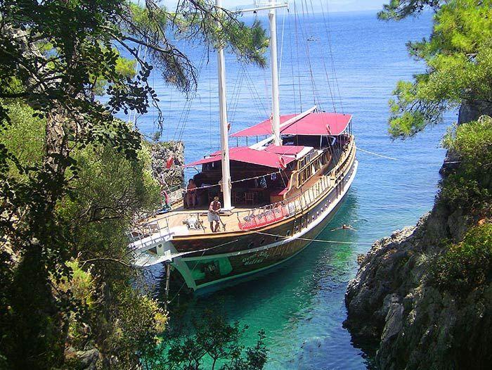 Image Cabotage et randonnée en Lycie