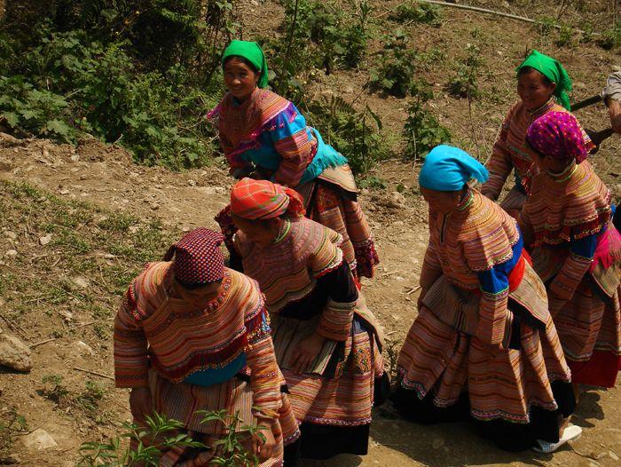Voyage à pied : L\'essentiel du nord Vietnam... Sapa, Bac Ha et peuples du Haut Tonkin