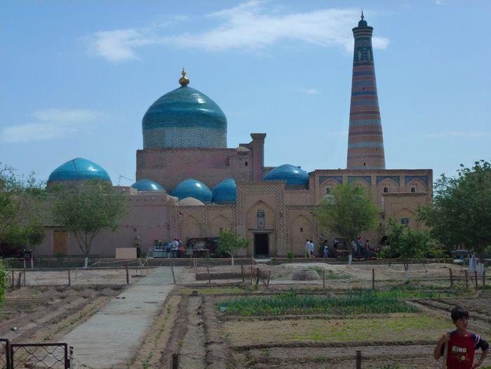 Voyage à pied : Ouzbekistan, magie d\'Asie et d\'Orient