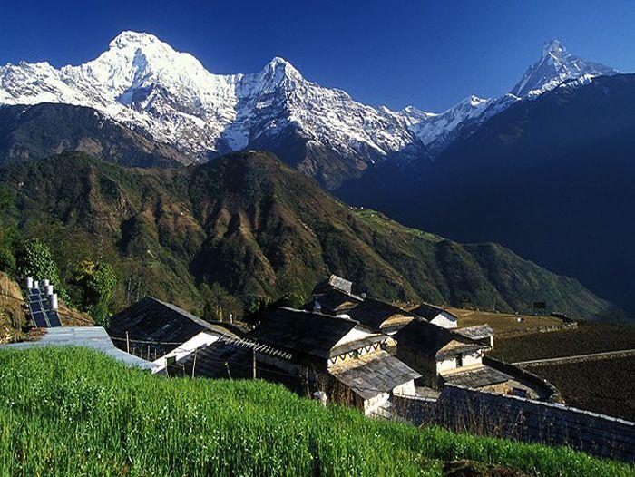 Voyage à pied : Le balcon des Annapurnas