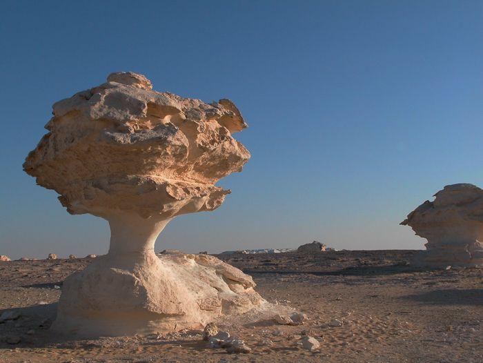 Voyage à pied : Desert blanc et felouque au fil du nil