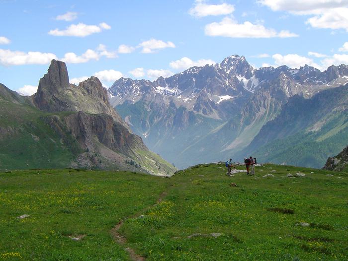 Voyage à pied : Haute Ubaye et piémont italien