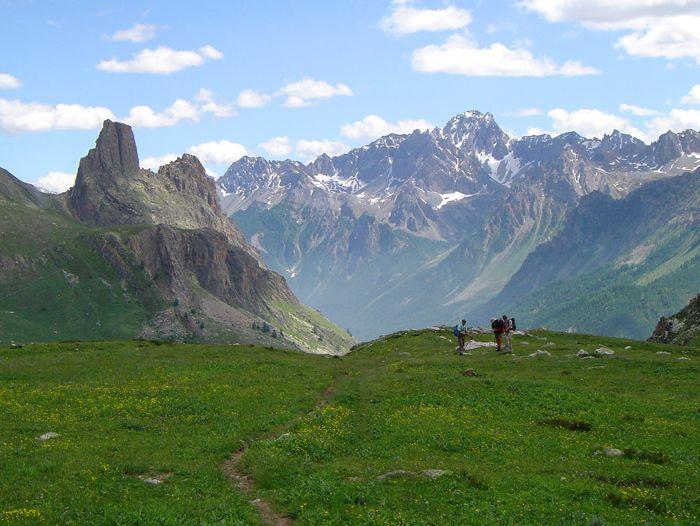 Voyage à pied : Grande traversée des Alpes... de Briançon à Menton