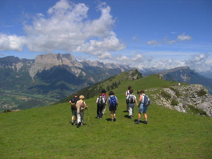 Voyage à pied : Vercors, tour des hauts Plateaux et du Mont Aiguille