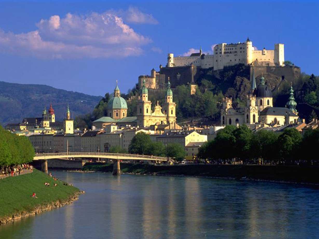 Voyage à pied : Dolomites, Bavière et Tyrol, randonnée de Salzbourg à Vérone