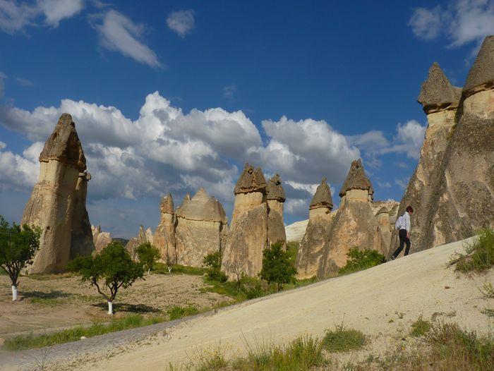 Voyage à pied : Balade en Cappadoce et visite d\'Istanbul