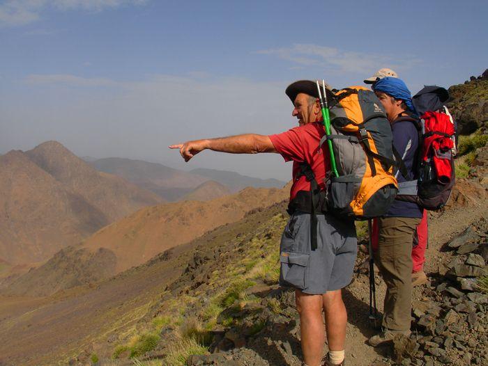 Voyage à pied : Grande traversée de l\'Atlas
