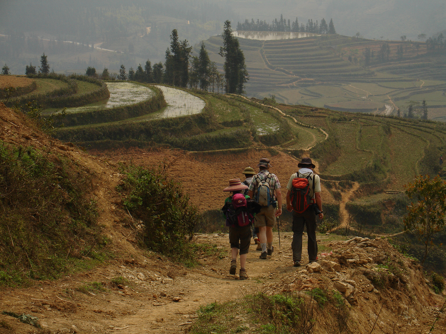 Voyage à pied : Vietnam : Trek du Haut Tonkin, Hanoi et baie d\'Along