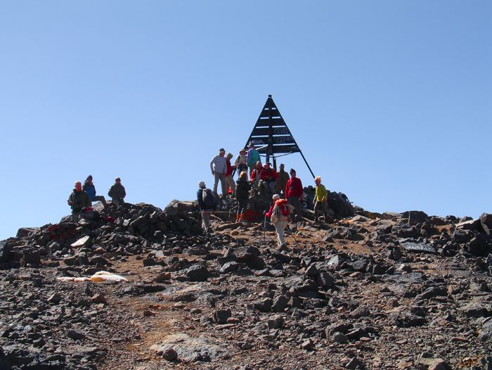 Ascension du Toubkal (4 167 m)