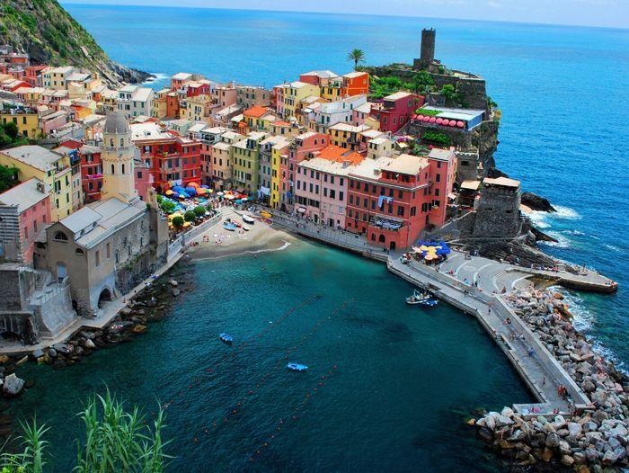 Voyage à pied : Italie : Randonnée Cinque Terre et golfe des poètes