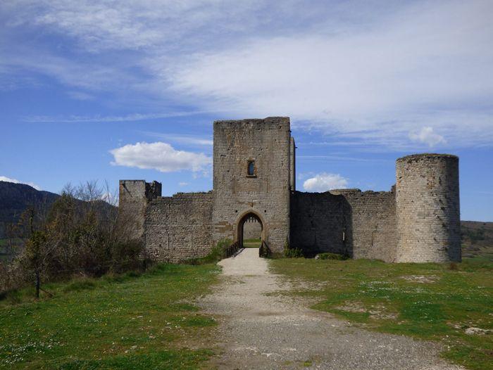 Voyage à pied : Pyrénéees : Châteaux Cathares, de Quillan à Foix