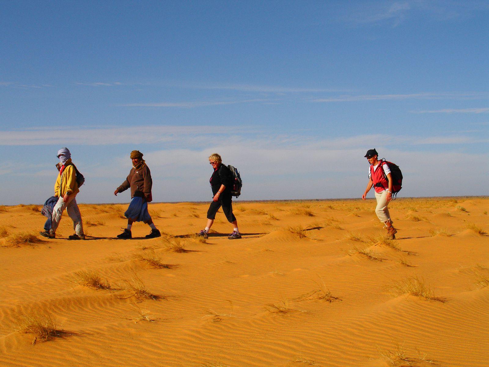 Voyage à pied : Mauritanie : De Ouadane à Chinguetti, cités caravanières