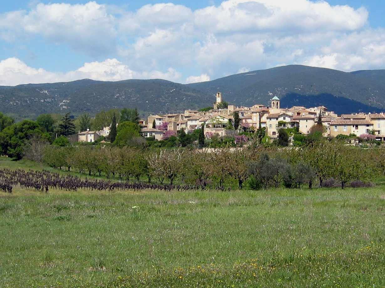 Voyage à pied : Réveillon provençal dans le Lubéron