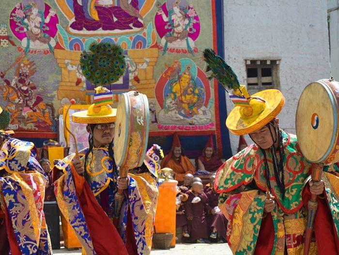 Voyage à pied : Royaume du Mustang, Lo Mantang et festival du Teji