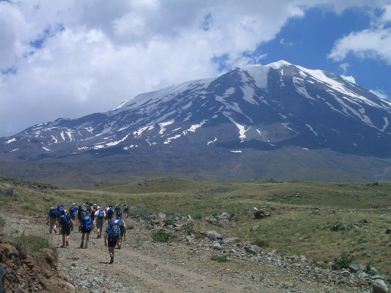 Voyage à pied : Le  Mont Ararat (5 165 m)