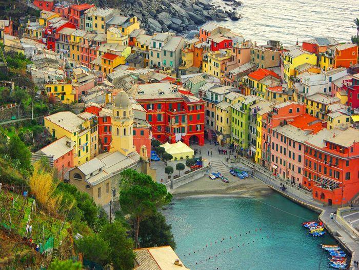 Voyage à pied : Nouvel An dans les Cinque Terre et la presqu\'île de Portofino
