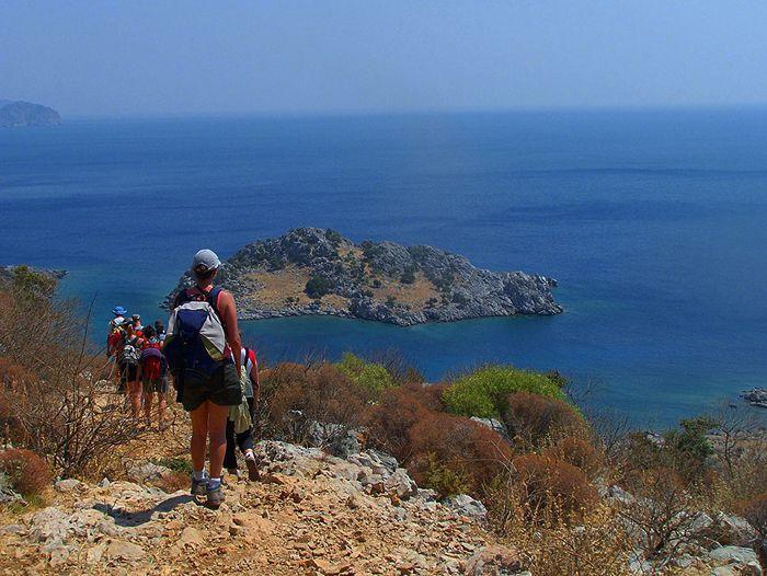 Voyage à pied : Randonnée en Lycie... Les c\'tes turquoise