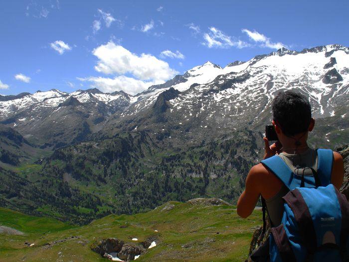 Voyage à pied : Pyrénéees : Les balcons de l\'Aneto... le toit des Pyrénées