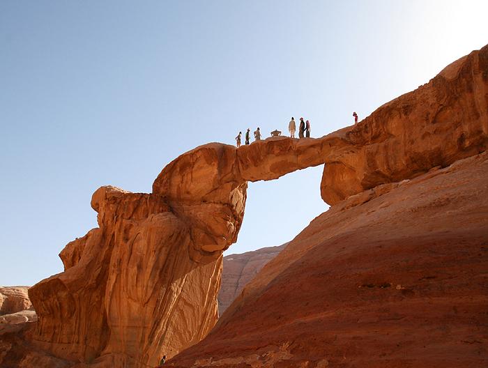Voyage à pied : Du d\'sert rouge à Petra la rose