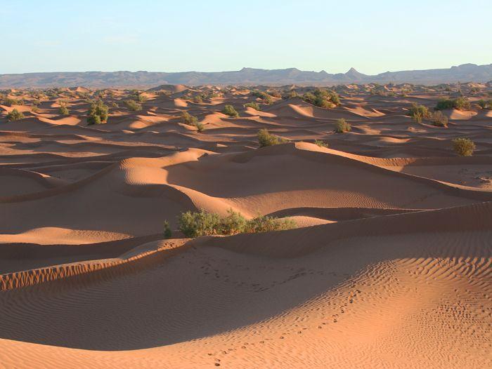 Voyage à pied : Les portes du désert