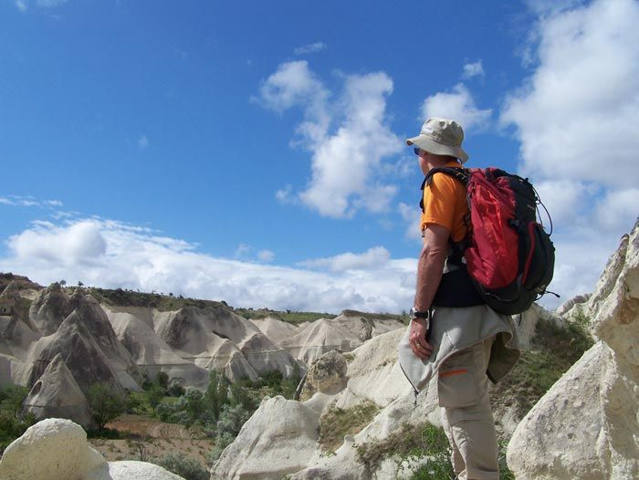 Voyage à pied : Randonnée en Cappadoce
