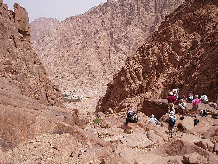 Voyage à pied : Egypte : SinaÏ... terre d\'histoire