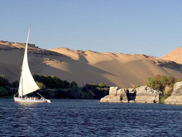 Voyage à pied : Egypte : Felouque et randonnee au fil du nil